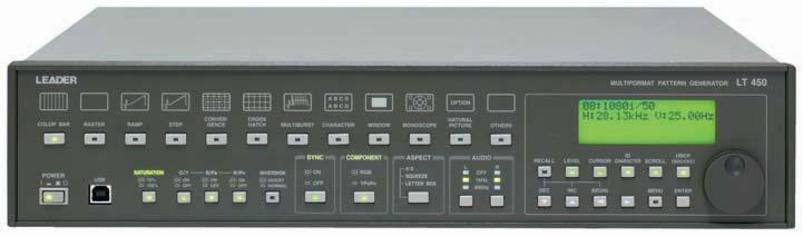 Leader Electronics Lt448 Multi-Format Pattern Generator