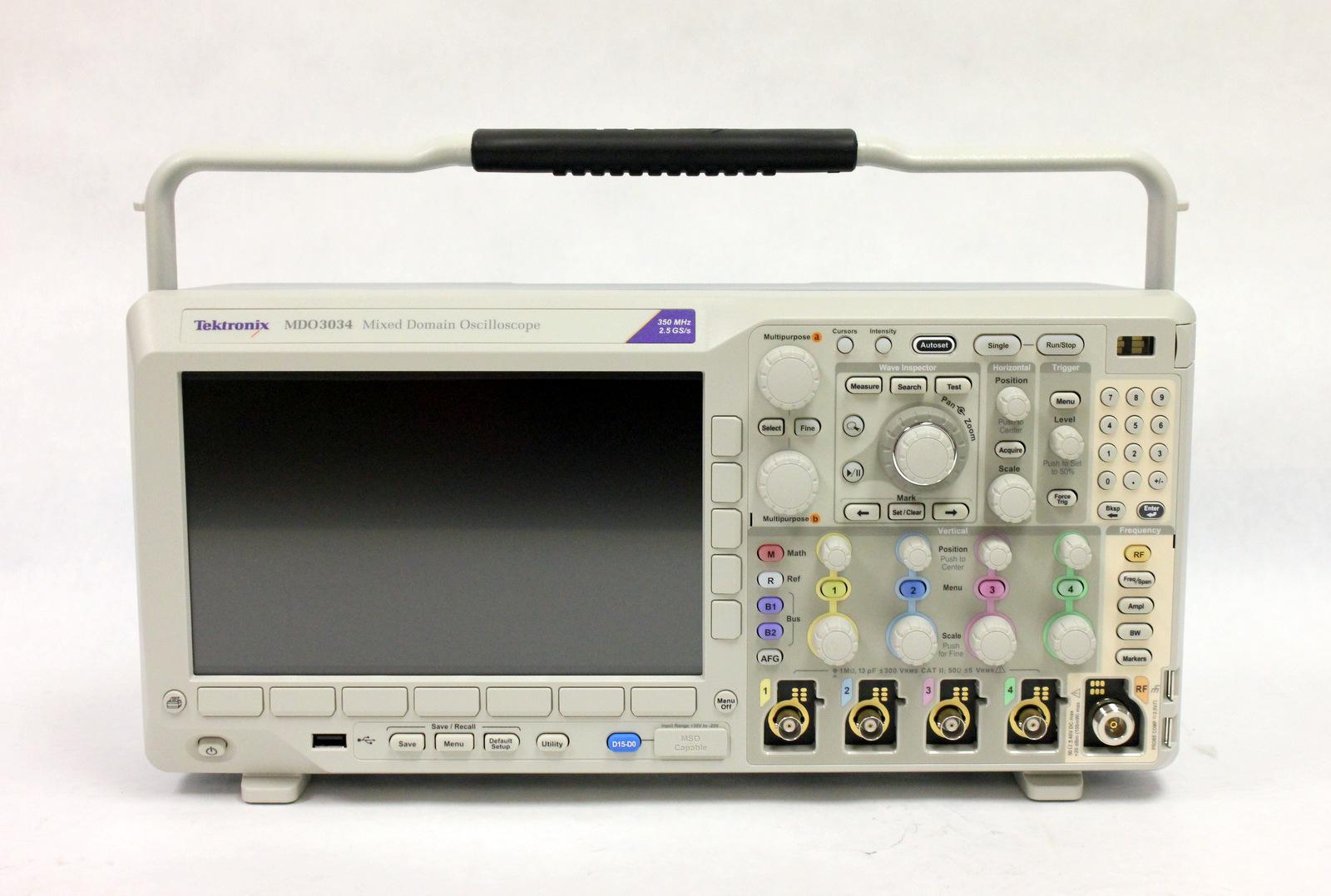 Tektronix Mdo3034 Oscilloscope