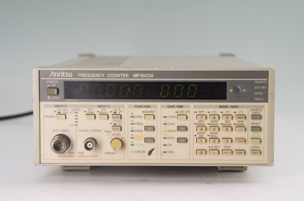 Anritsu Mf1603A 0.1 Mhz To 3 Ghz Frequency Counter