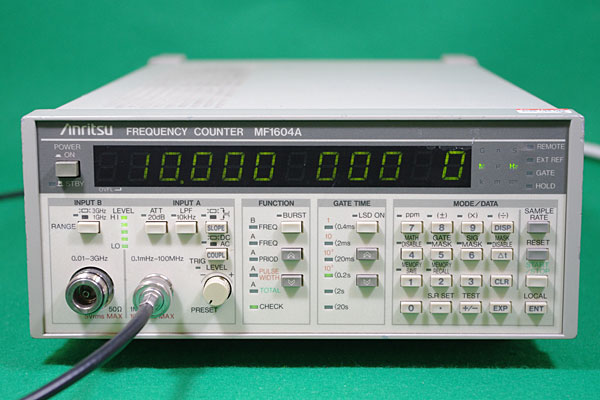 Anritsu Mf1604A 0.1 Mhz To 3 Ghz Frequency Counter