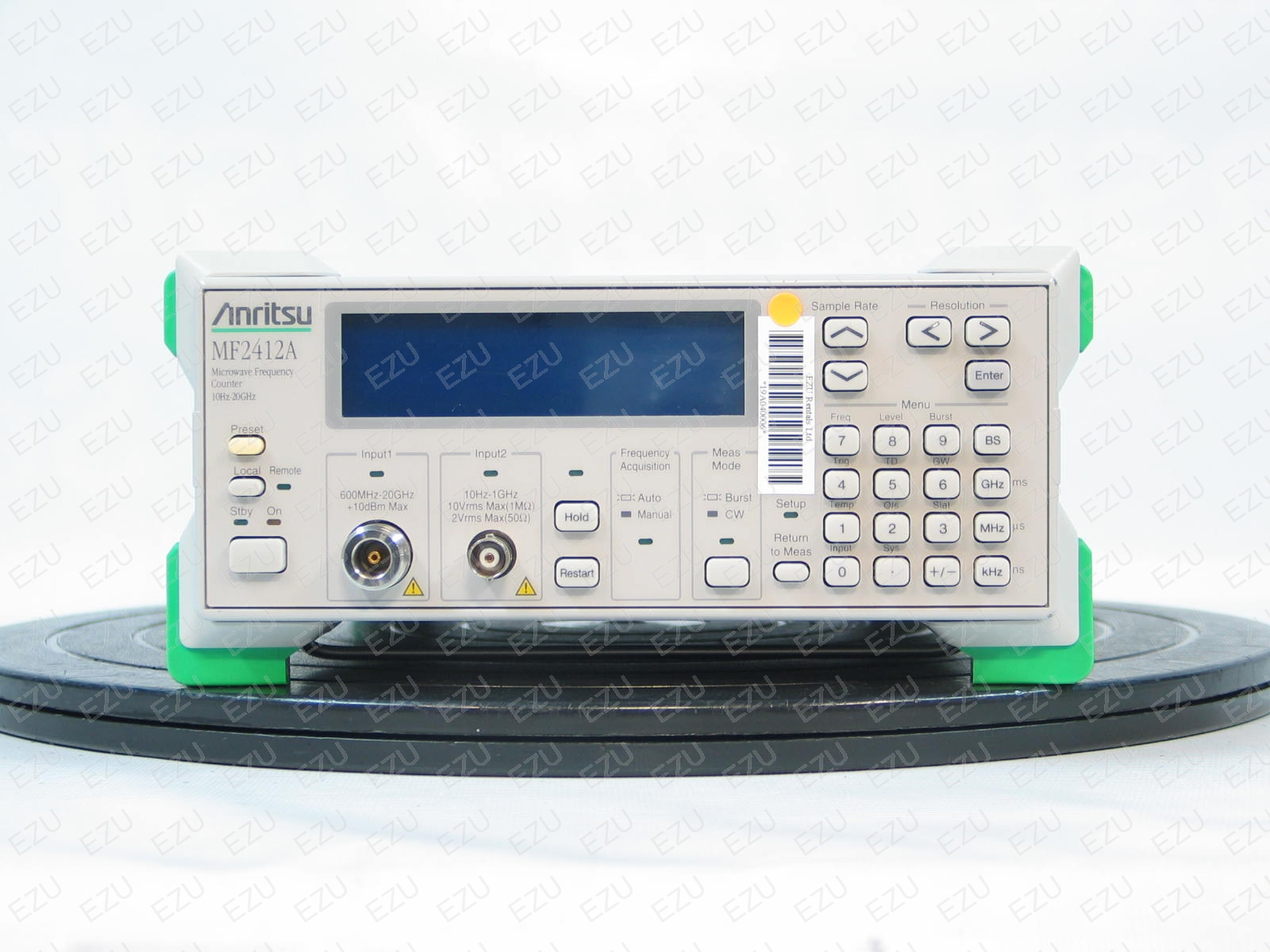 Anritsu Mf2412A 600 Mhz To 20 Ghz, Microwave Frequency Counter