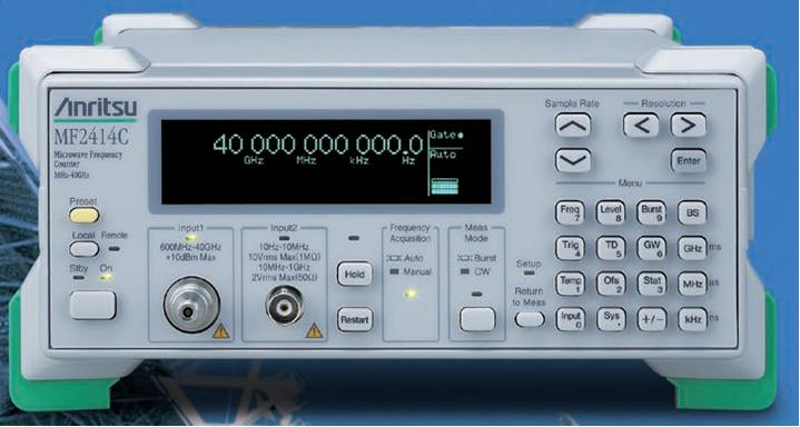 Anritsu Mf2412C Microwave Frequency Counter