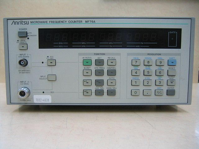 Anritsu Mf76A Microwave Frequency Counter