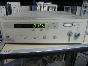 Anritsu Mf9630A Optical Wavelength/Frequency Counter