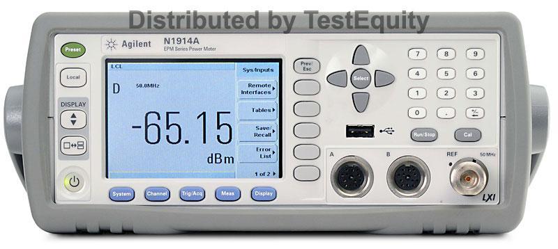 Keysight N1913A Series Single-Channel Power Meter