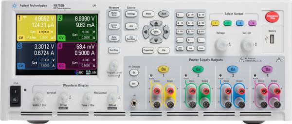 Keysight N6705B Dc Power Analyzer, Modular, 600 W, 4 Slots