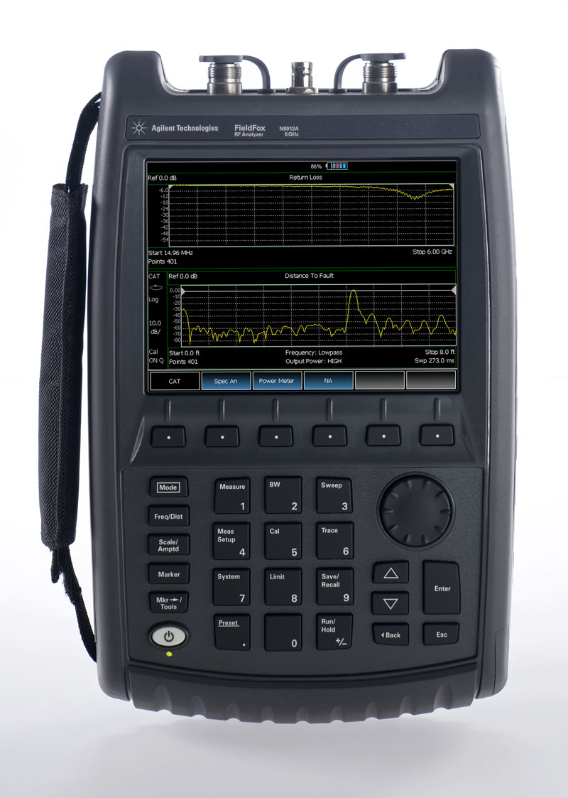 Keysight N9912A Fieldfox Handheld Rf Analyzer