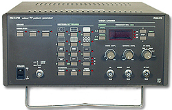Phillips Pm5518 Pm5518 32 To 900 Mhz, Color Tv Pattern Generator