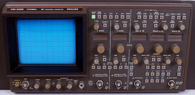 Phillips Pm3286 175 Mhz/2Ch Oscilloscope