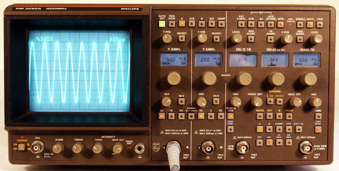 Phillips Pm3295A Analog Oscilloscope