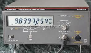 Phillips Pm6662 120 Mhz Frequency Counter / Timer