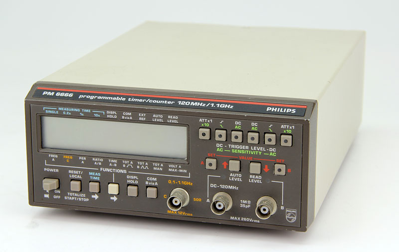 Phillips Pm6666 Pm6666 Timer/Counter