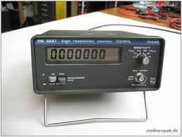 Phillips Pm6667 Dc - 120 Mhz Counter W/ Tcxo Timebase