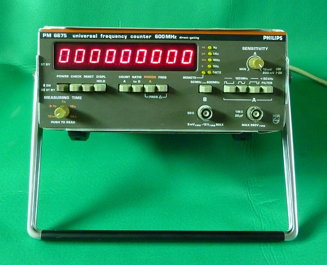 Phillips Pm6675 Counters/Timers