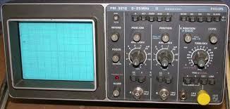 Phillips Pm 3212 Pm3212 25 Mhz, Analog Oscilloscope