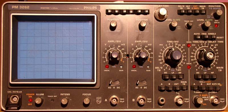 Phillips Pm 3262 Oscilloscopes