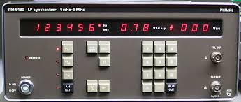 Phillips Pm 5190Xm 2Mhz Synthesized Function Generator
