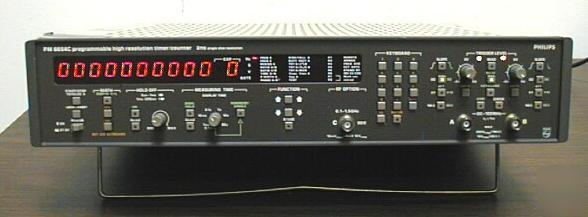 Phillips Pm6654C 1.5Ghz Univ Counter