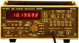 Phillips Pm 6671 120Mhz Timer/Counter