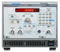 Tektronix Sg5030 Programmable Leveled Sine Wave Generator