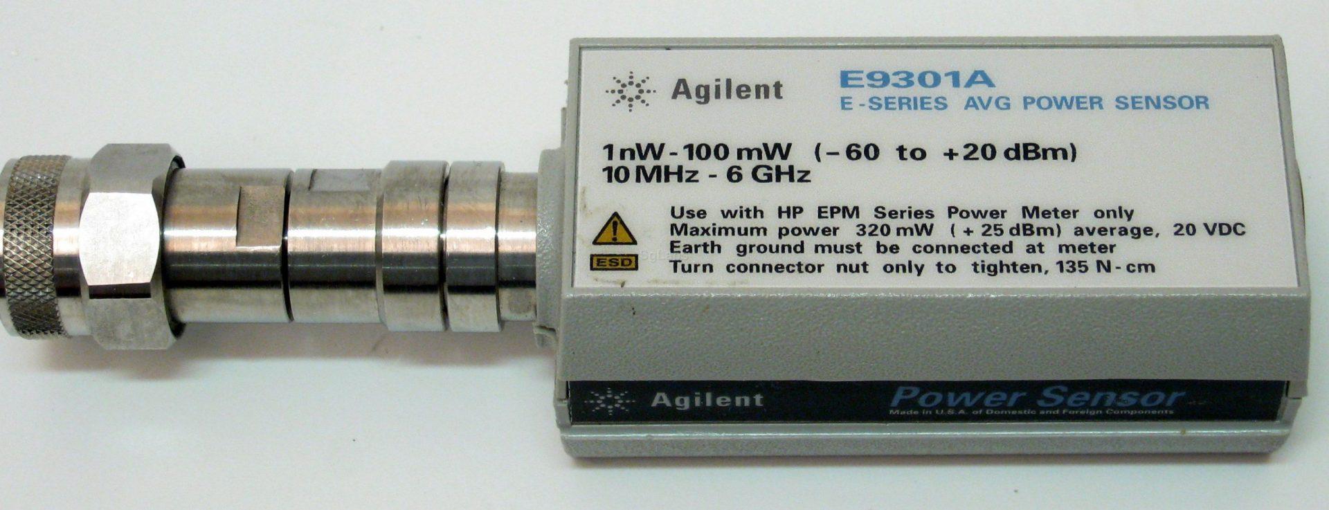 Keysight E9301A E-Series Average Power Sensor 10Mhz-6Ghz