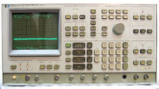 Agilent 3585A Spectrum Analyzer, High Perf 20Hz-40Mhz