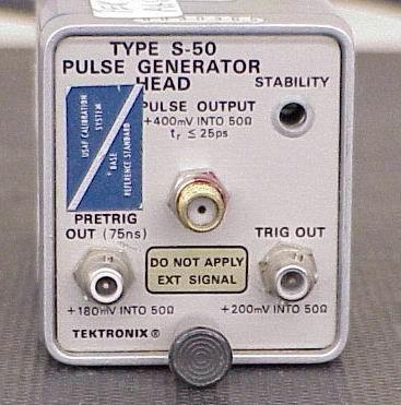 Tektronix S-50 Pulse Generator Head