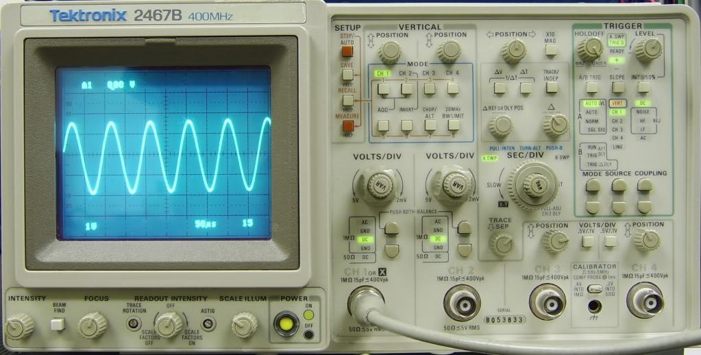 Tektronix 2467B Oscilloscope