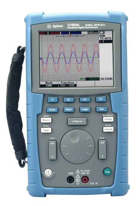 Agilent U1604A Handheld Oscilloscopes, 40 Mhz