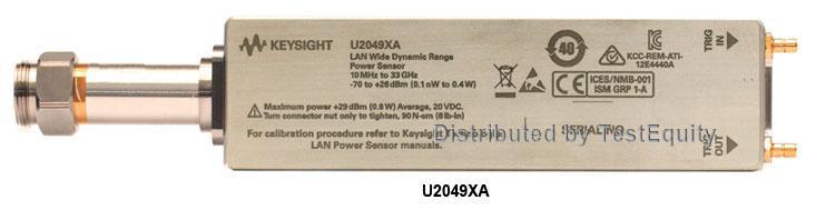 Keysight U2049Xa Lan Power Sensor