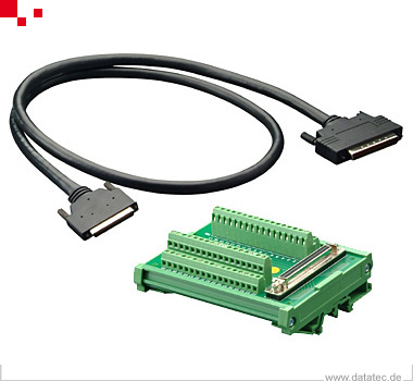 Keysight U2902A Terminal Block And Scsi-Ii 68 Pin Connector With 2 Meter Cab