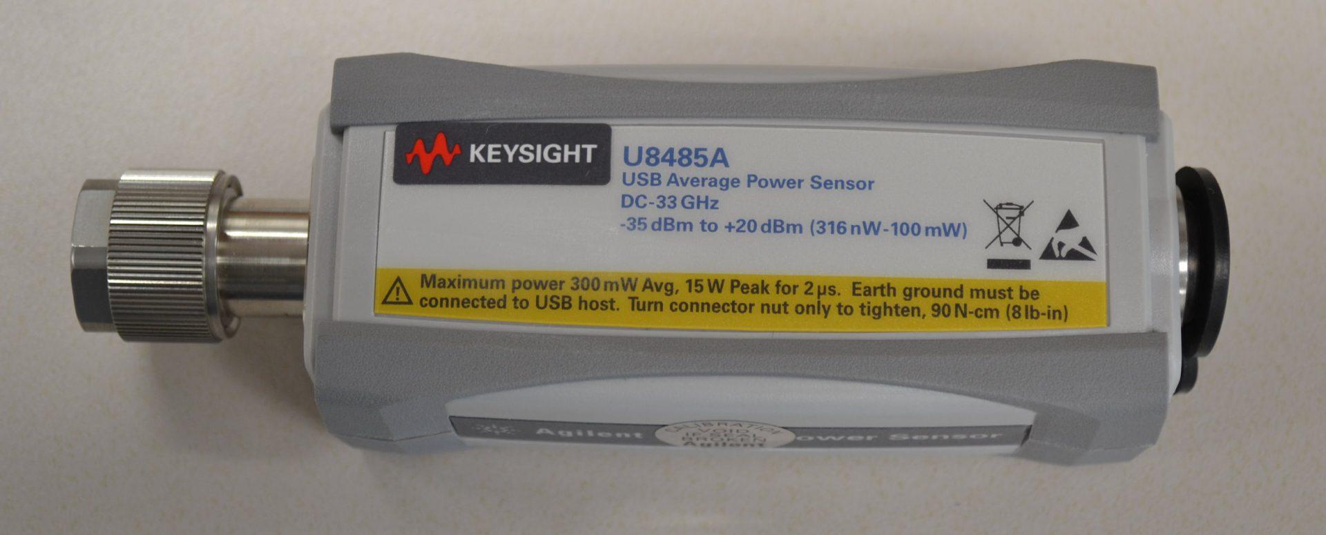Keysight U8485A Usb Thermocouple Power Sensor