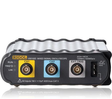 Rigol Vs5062D Vs5062D 60 Mhz, Mixed Signal Oscilloscope - 2+16 Digital Cha