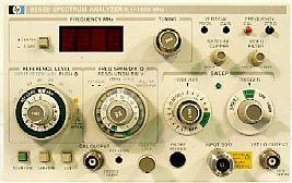 Agilent 8558B Spectrum Analyzer, 0.1 - 1500 Mhz