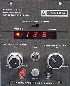Tdk-Lambda Lq-521 Dc Power Supply 0-20V 0-3.3A