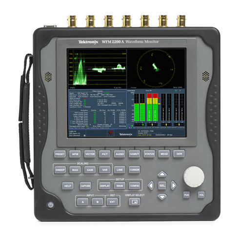 Tektronix Wfm2200A Multiformat Waveform Monitor