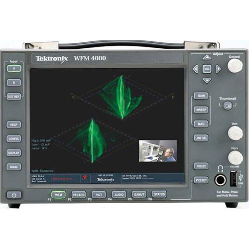 Tektronix Wfm4000 Waveform Monitor