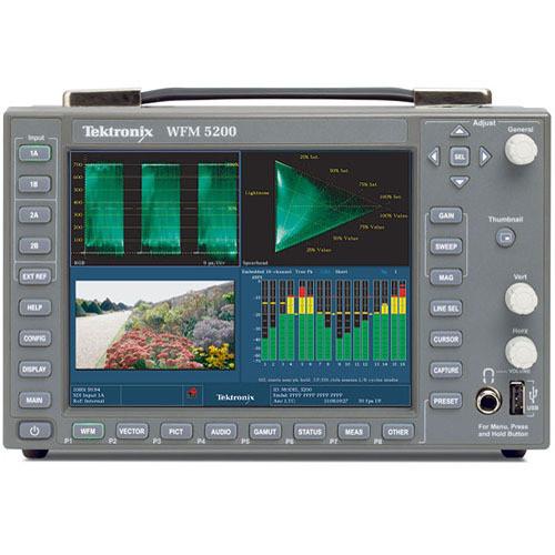 Tektronix Wfm5200 Waveform Monitor, Multiformat