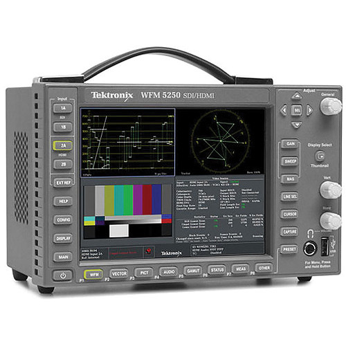 Tektronix Wfm5250 Multiformat Waveform Monitor