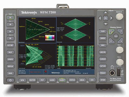 Tektronix Wfm7200 Multiformat Waveform Monitor