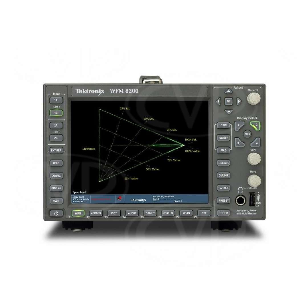 Tektronix Wfm8200 Waveform Monitor