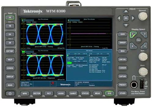 Tektronix Wfm8300 Waveform Monitor