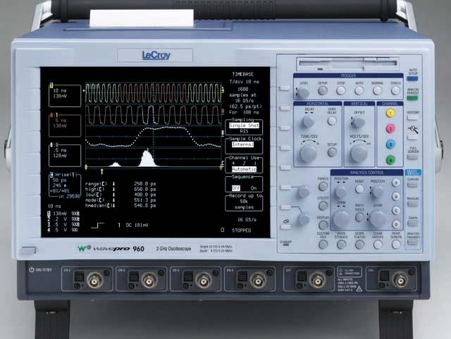 Teledyne Lecroy Wp950 1Ghz 4Ch 4Gsa/S Oscilloscope