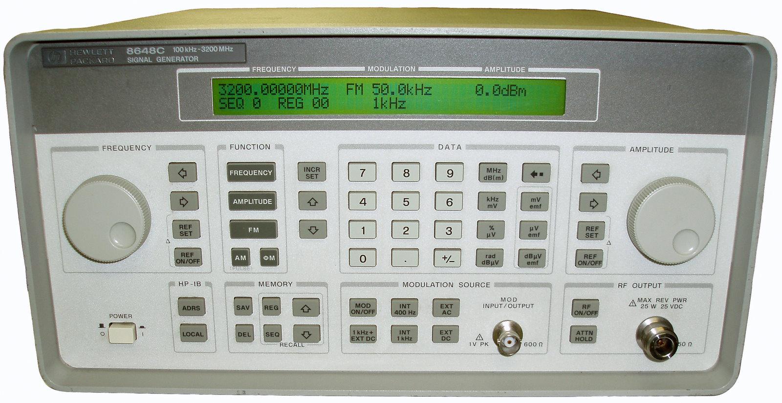 Agilent 8648C Signal Generator
