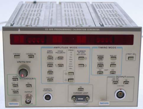 Tektronix Cg5010 Cg5010 Programmable Calibration Generator
