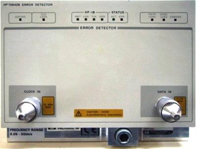 Agilent 70842B BERT/Jitter Test