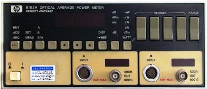 Agilent 8152A Optical Meter