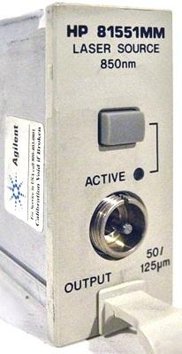 Agilent 81551MM Optical Source