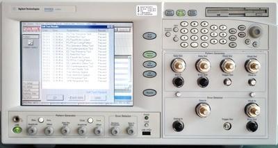 Agilent N4906A BERT/Jitter Test