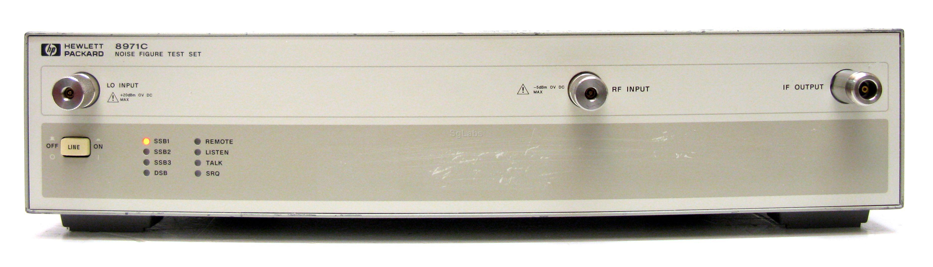 Agilent 8971C Noise [Source/Figure Meter]